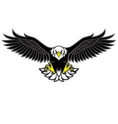 Eagle mascot spread the wings vector Eagle Vector, Owl Vector, Vector Art, Eagle Cartoon, Owl Cartoon, Turkey Cartoon, Eagle Icon, Eagle Images, Baseball Vector