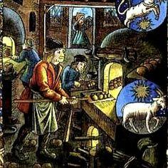 Les mois du calendrier des bergers(XVème Siècle) - Decembre (Sagittaire - Capricorne)