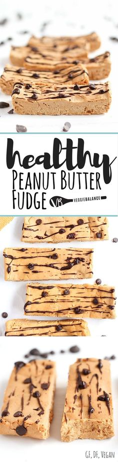 Ingredient Peanut Butter Fudge recipe made with simple, easy ingredients. Naturally Vegan, Gluten-free, dairy-free and low-calorie! Making the perfect snack or pre-workout snack