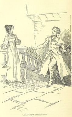 Jane Austen Northanger Abbey - Mr. Tilney! she exclaimed