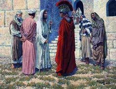 The healing of a centurion's servant, Matthew 8:5-13.