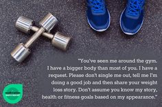 This should be posted in every gym.  From The Moderation Movement on FB.