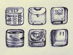 Icons Sketch #icon #draft