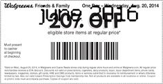 Walgreens Coupons Ends of Coupon Promo Codes MAY 2020 ! Walgreens H. Free Coupons Online, Free Printable Coupons, Walgreens Coupons, Printables, Hot, September, Print Templates