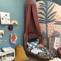 What a beautiful space created by the super talented (loved meeting you!) Swipe to see what Chloe created at… Baby Room Decor, Bedroom Decor, Lego Bedroom, Nursery Room, Girl Nursery, Minecraft Bedroom, Bedroom Furniture, Girls Bedroom, Childs Bedroom