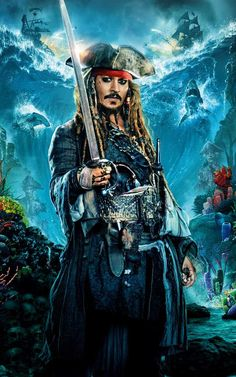 Pirates of the Caribbean 6 movie trailer, release date, plot, and cast starring Johnny Depp. Johnny Depp will return as Captain Jack Sparrow in the sixth installment of Disney's blockbuster franchise. Jack Sparrow Movies, Jack Sparrow Drawing, Jack Sparrow Tattoos, Jack Sparrow Quotes, Jake Sparrow, Captian Jack Sparrow, Pirate Art, Pirate Life, Jack Sparrow Wallpaper
