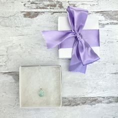Small Teardrop Amazonite Crystal Stone Pendant Necklace | Etsy