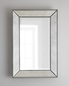 Beaded Wall Mirror - Neiman Marcus