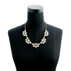 Crystal droplets necklace - jewelry - Women's new arrivals - J.Crew