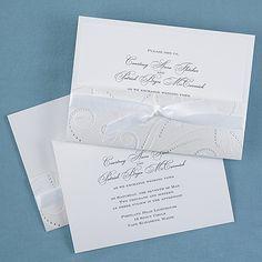Shimmer Vines Pocket Wedding Invitations http://partyblock.carlsoncraft.com/Wedding/Pockets/1080-WRN9871-Shimmer-Vines--Invitation.pro
