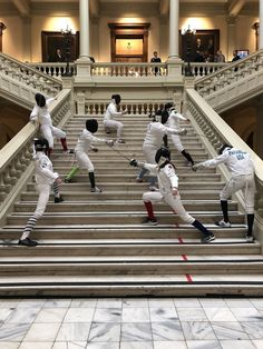 """DFC says: """"Well fenced!"""" to our DFC fencers who were part of the fencing demonstration team at GHSFL Day at the Capitol 2018 Gabion Fence, Brick Fence, Front Yard Fence, Pallet Fence, Farm Fence, Bamboo Fence, Metal Fence, Pool Fence, Backyard Fences"""