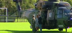 RT @9NewsAUS: The Royals touching down in the #BlueMountains to meet with locals pic.twitter.com/oOdi1SoJx6