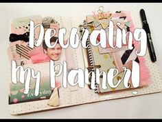 Decorating My Planner!! - YouTube