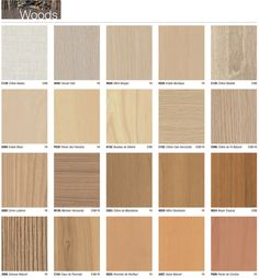 Décor bois collection porte / Doors collection wood laminate
