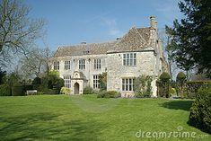 English country house by Tudorish, via Dreamstime