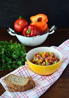skoraq cooks: Sałatka izraelska / Israeli salad