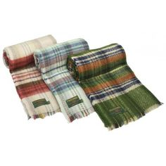Recycled woolloen tartan snug rug - perfect 7th wedding anniversary gift to enjoy those picnics, beach trips, and country rambles.