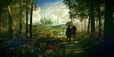 'Oz: The Great and Powerful' Photos Show Off Sam Raimi's Dazzlingly Colorful Fantasyland