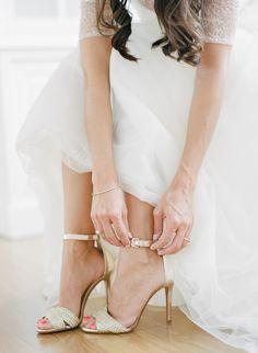 #white, #fashion  Photography: Rebecca Yale Photography - rebeccayalephotography.com Dress: Jenny Yoo - jennyyoo.com