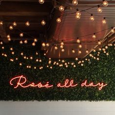 Rosé All Day <3 www.popofblonde.com