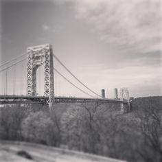 Fort Lee, Washington Heights, Hudson River, George Washington Bridge, New York City, Travel, Viajes, New York, Destinations