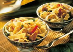 Low cholesterol recipes: noodles Chinese style   Food & Drink
