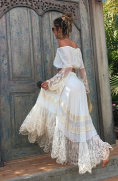PEASANT GIRL WRAP SKIRT