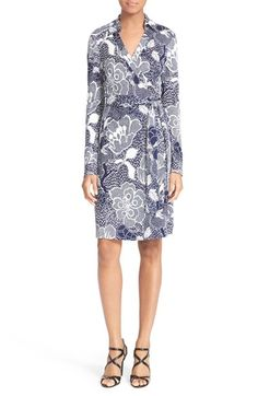 Diane von Furstenberg 'New Jeanne Two' Wrap Dress available at #Nordstrom