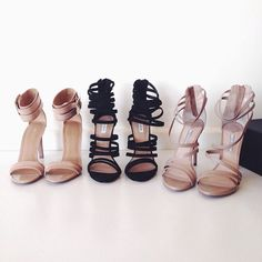 Classy heeled sandals