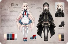 Alice Reference by Rini-tan.deviantart.com on @deviantART