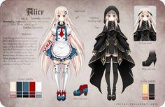 Alice Reference by Rini-tan.deviantart.com on @deviantART