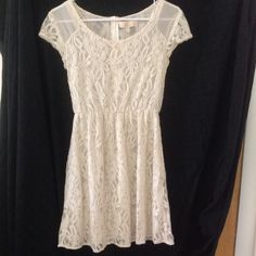 Monteau brand lace dresses