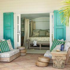 Secret Retreat - Classic Tropical Island Home Decor - Coastal Living