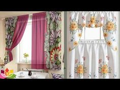 50 Best Curtain Design ideas for kitchen - Kitchen Curtains Ideas Farmhouse Kitchen Curtains, Kitchen Window Curtains, Kitchen Fabric, Kitchen Valances, Cool Curtains, Modern Curtains, Lined Curtains, Country Curtains, Kitchen Curtain Designs