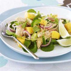 Asian Chicken and Mango Salad