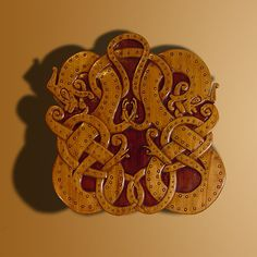 VA dragons taken from the Oseberg ship burial of Queen Asa. One of my all time favourite designs.
