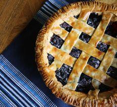 Frozen Blueberry Pie