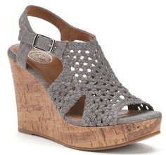 bb5c1fe5e Kohl s SO Woven Wedge Sandals Wedge Sandals