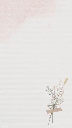 minimalist phone wallpaper Vintage leaves design b - Framed Wallpaper, Flower Background Wallpaper, Flower Phone Wallpaper, Pastel Background, Background Vintage, Vintage Phone Wallpaper, Simple Background Design, Handy Wallpaper, Aztec Wallpaper