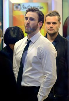 Chris Evans Take Back Tour of 2014 during promotion of Captain America: Winter Soldier