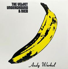 View this item and discover similar for sale at - Andy Warhol Banana Cover Art The Velvet Underground & Nico Vinyl Record circa early featuring original Record Cover Art by Andy Warhol. Iconic Album Covers, Greatest Album Covers, Rock Album Covers, Classic Album Covers, The Velvet Underground, Lps, Andy Warhol Banana, Pop Art, Vinyl Record Art