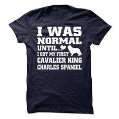 Cavalier king charles spaniel T-Shirts, Hoodies. Check Price Now ==► https://www.sunfrog.com/Pets/Cavalier-king-charles-spaniel-62259740-Guys.html?id=41382