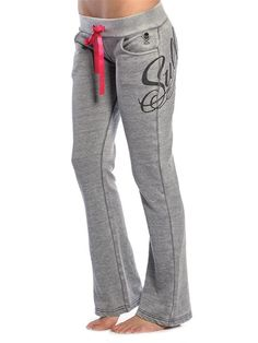"""Womens """"Easy Life"""" Fleece Pants by Sullen Clothing (Grey) #InkedShop #Sullen #fleece #pants #womenswear #womensclothing #style #fashion"""