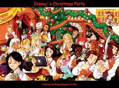 disney princess christmas party