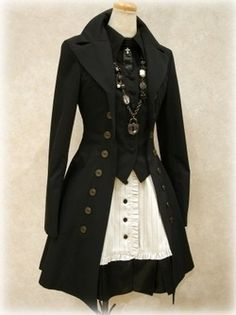 steampunk clothes | Maybe I can just wear this for Halloween.  :) #Christmas…