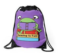 Reading Is Fun Cute Book Loving Alien