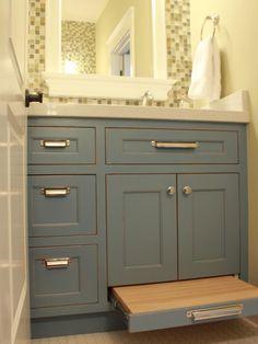 bathroom cabinets dark grey stain - Google Search