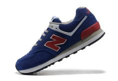 New Balance Running Shoes Navy Blue Mens Varsity Classics Sneakers 574