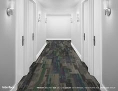 Interface Reclaim Antique Teal Commercial Carpet Tiles, Corridor, Tile Floor, Teal, Antiques, Home Decor, Antiquities, Antique, Decoration Home