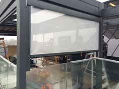 Side screens or clear PVC to make your system completely weather proof